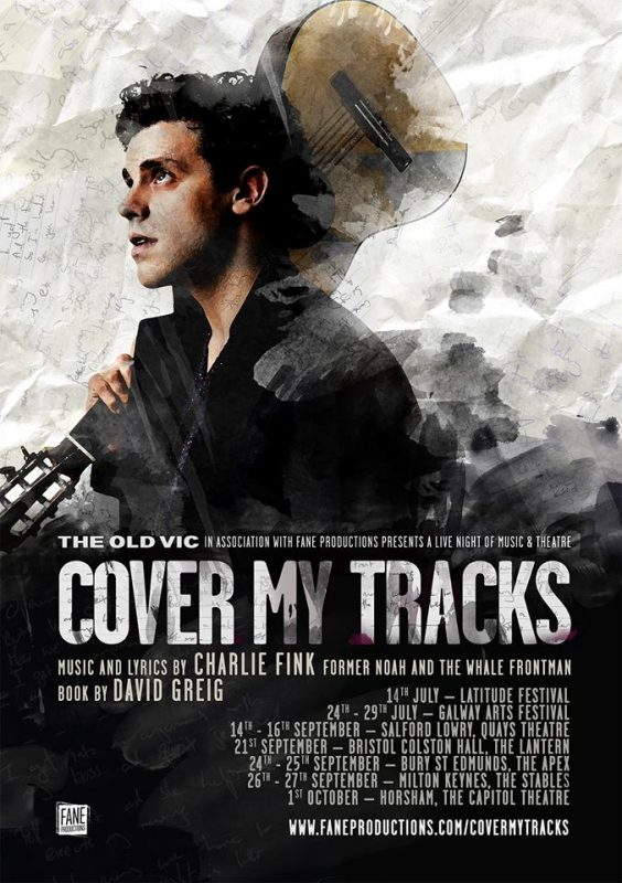 Charlie Fink - Cover My Tracks Tour Poster