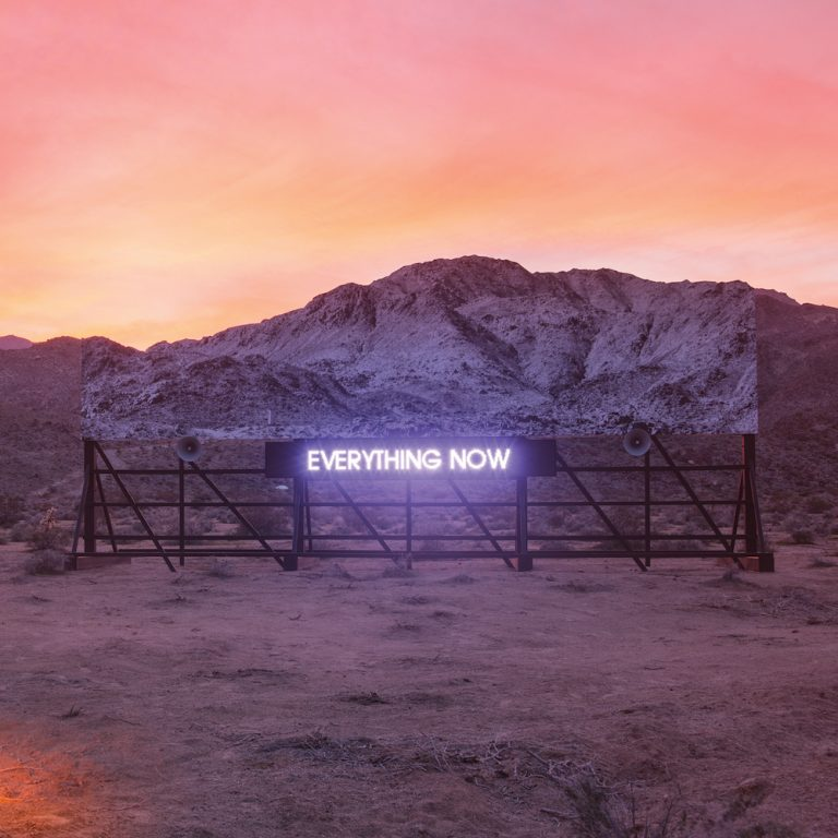 Arcade Fire - Everything Now Album Cover
