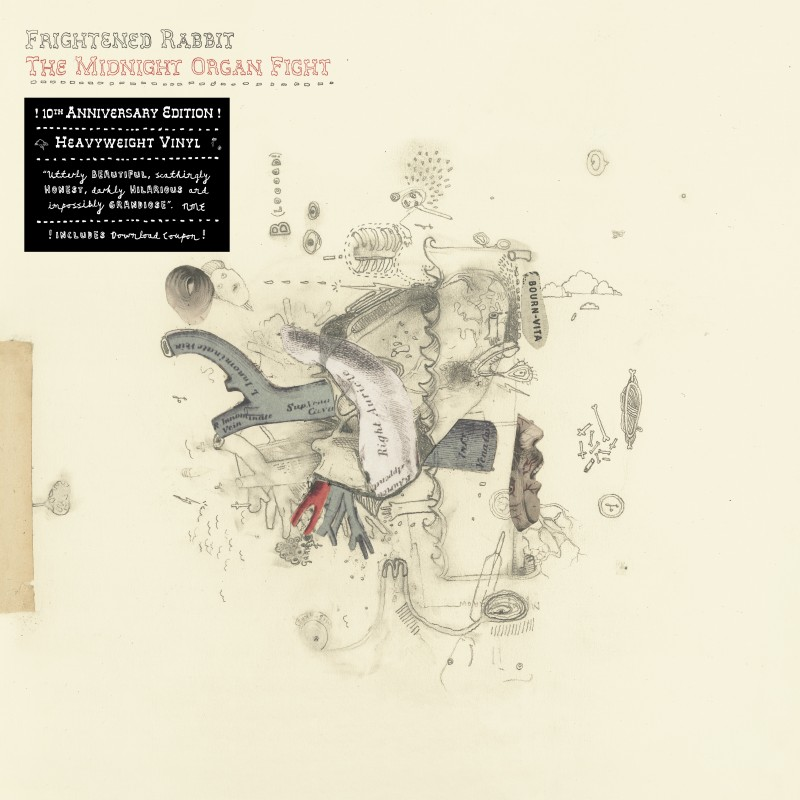Frightened Rabbit - The Midnight Organ Fight (10th anniversary edition)