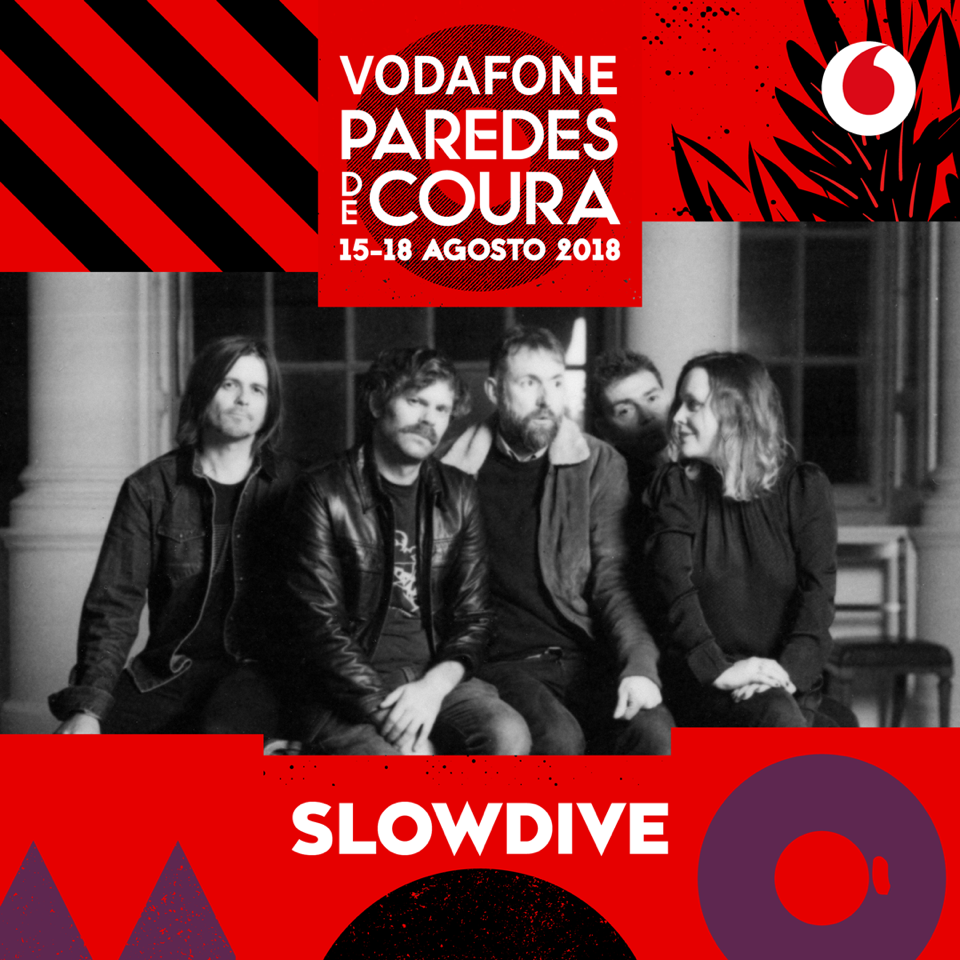 Slowdive no Vodafone Paredes de Coura' 18