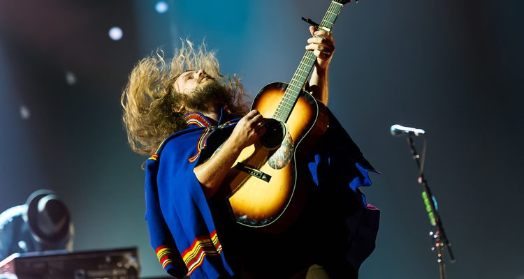 Jim James of My Morning Jacket by Justin Wise